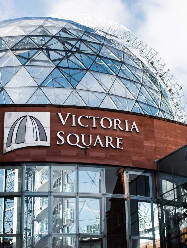 Victoria Square Shopping Centre, Belfast, Northern Ireland