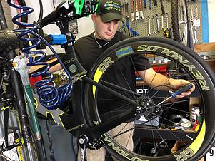 Patrick... bike enthusiast, technician, community supporter, and GCCT business owner.