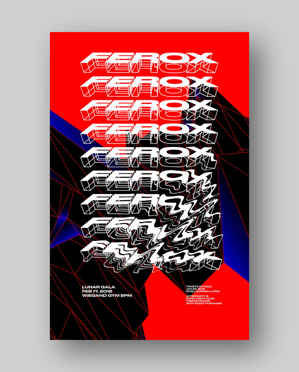 Ferox poster by the print team