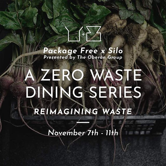 coming to Fitz in November...a very special dining series featuring Chef @mcmasterchef  from @silobrighton and @packagefreeshop, presented by @henryrich of The Oberon Group. Tix (going fast) in bio.  Special thanks to sponsors @eileenfisherny @bluehillfarm @skyhour, and partners @goodlightcandles @boworkwear @thoughtfulhuman @fab_scrap @toastaleusa  #zerowaste
