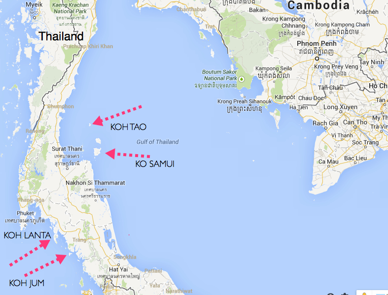Thailand fitness retreat koh tao blog new horizon escapes there it is that tiny little island off the eastern coast of thailand and at a mere 21sqkm it really is a spec in the ocean dont be fooled by its size gumiabroncs Choice Image