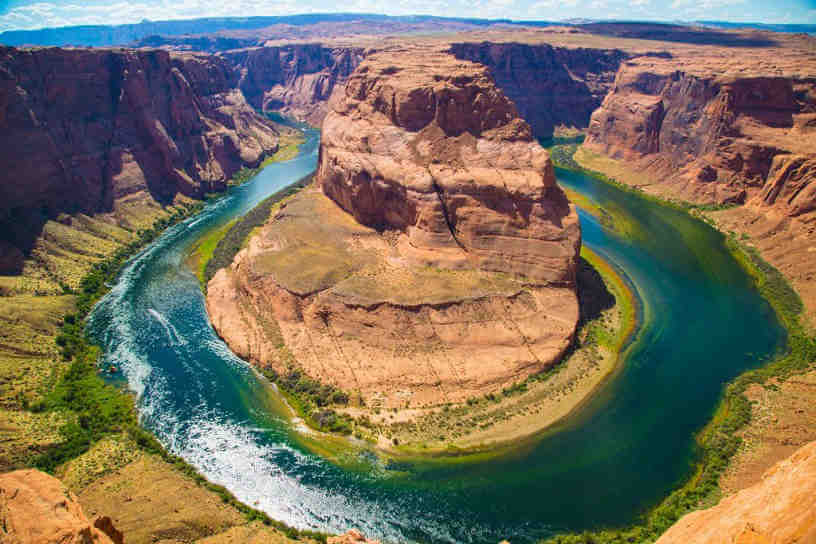Shoe horse bend Arizona