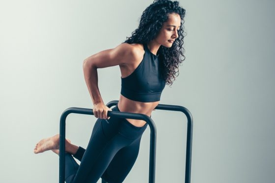 Shona Vertue using bodyweight to sculpt a curvy physique