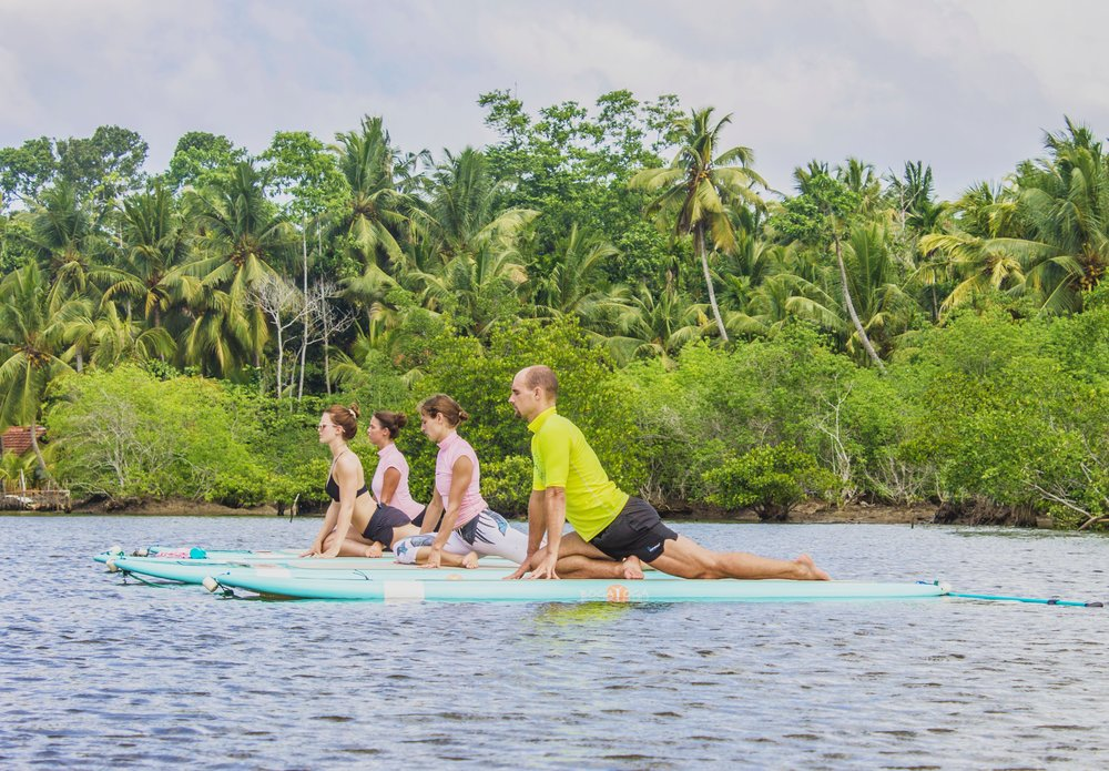 Step up your Yoga game with SUP Yoga