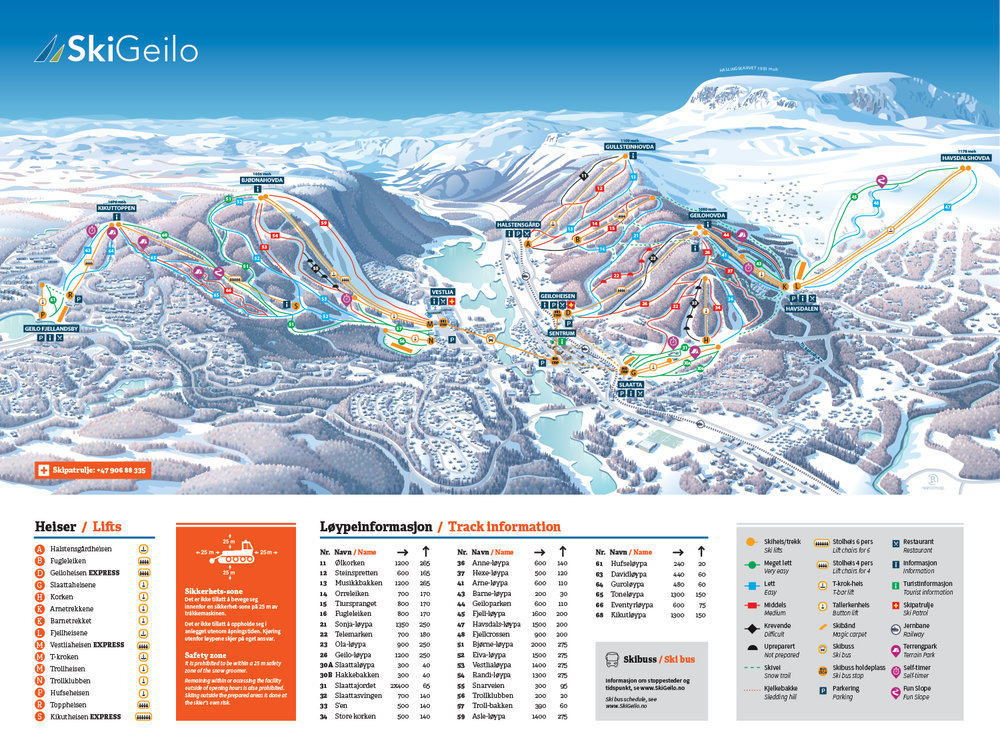 VIEW MAP OF SLOPES HERE