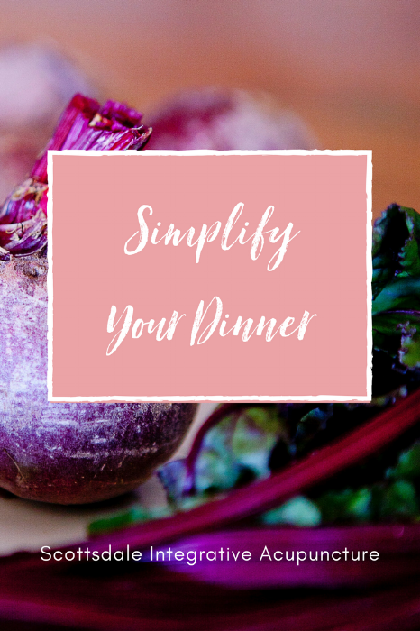 simplify your dinner