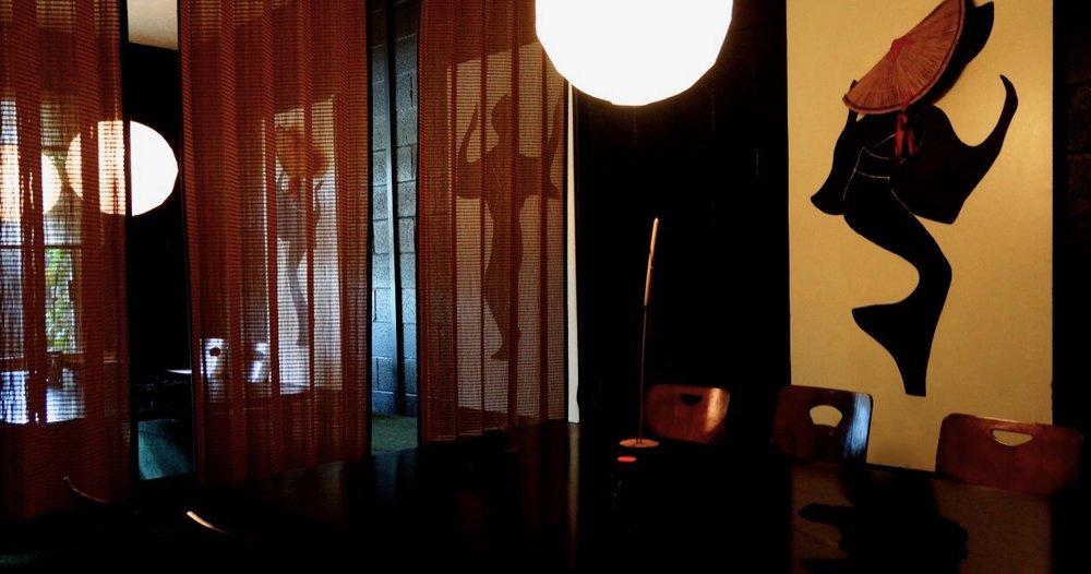 Large private tea room