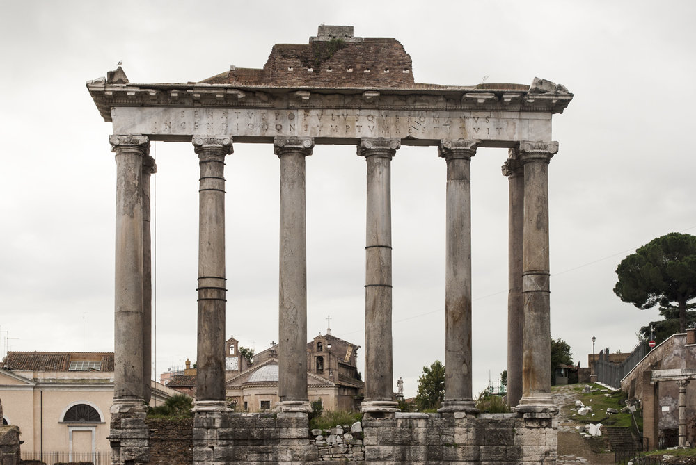 Temple of Saturn in Rome