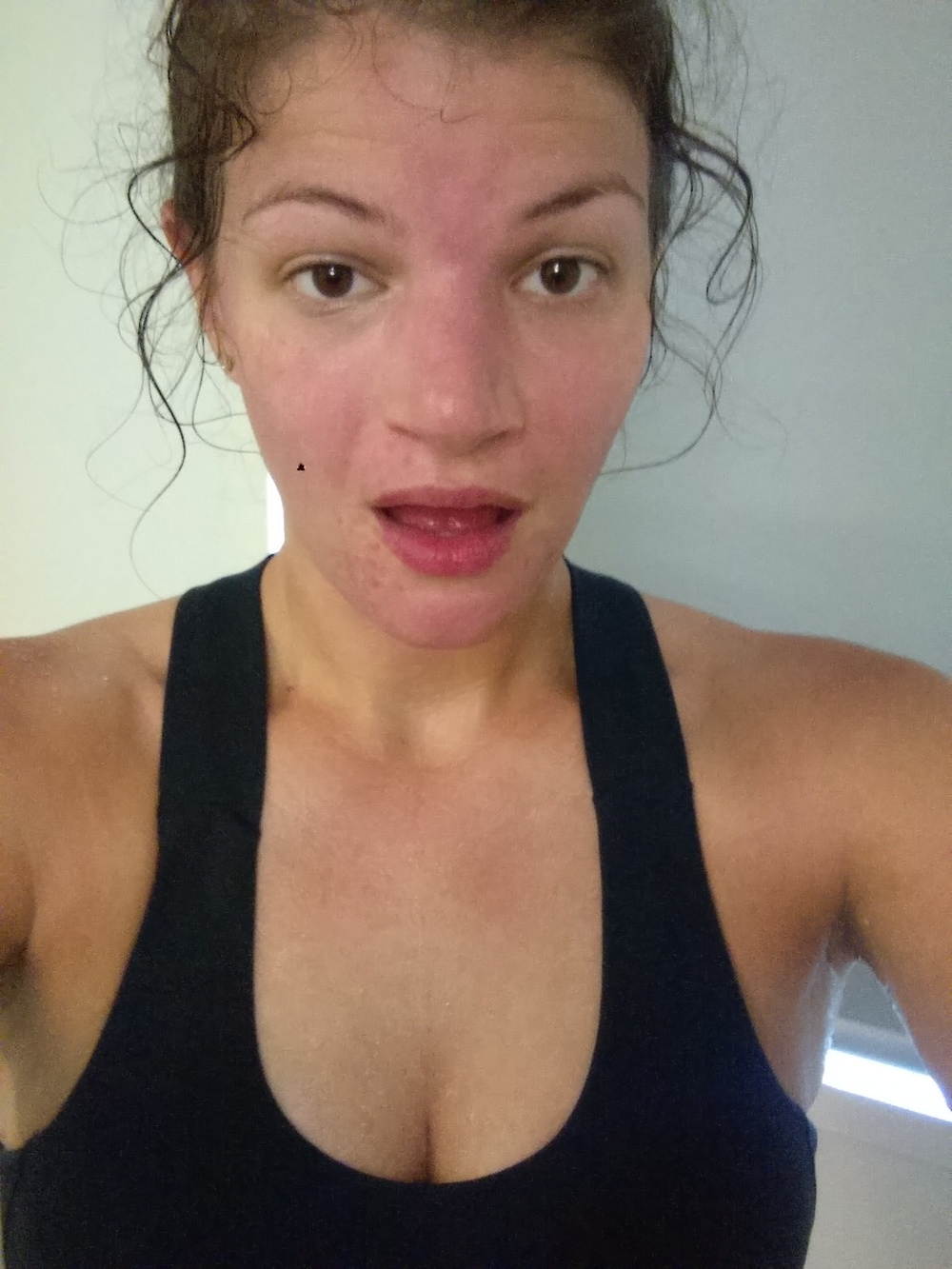 so that's me, post-bikram. sweaty MESS but HAPPY and totally riding that sweaty high!