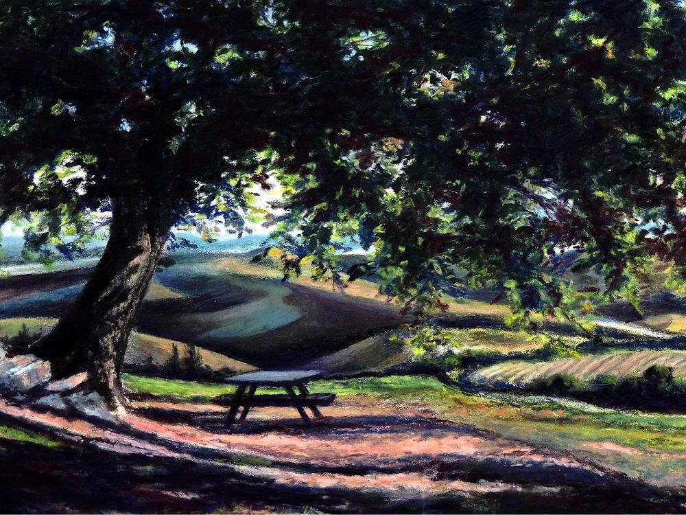 """solitude"", near vagliogli, italy  Pastel Cheri Ginsburg ©"