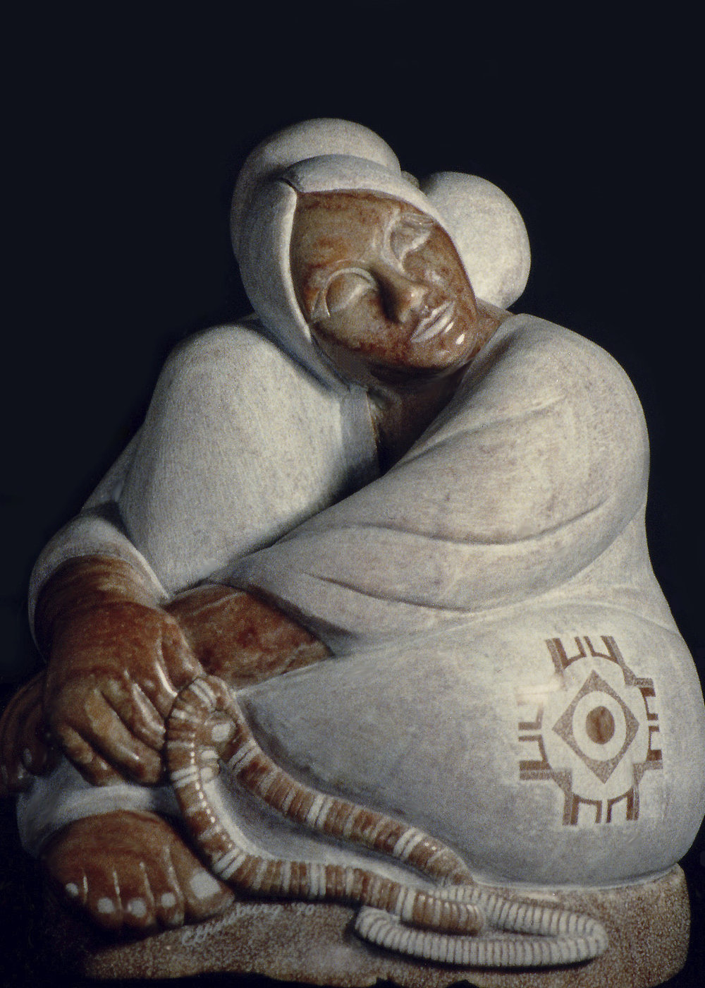 """DAYDREAMER""    Alabaster    Private Collection"