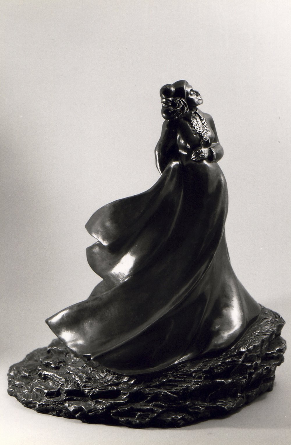 """EARTH MOTHER""  Bronze  Private Collection"