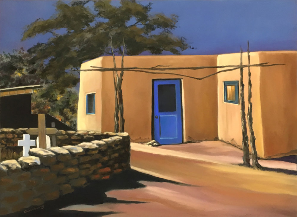 Untitled  Taos, NM  18 x 24  PanPastel on Ampersand Pastelbord  Cheri Ginsburg©