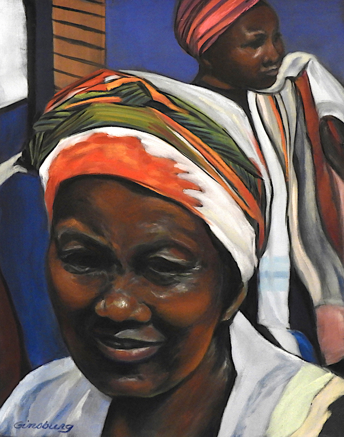 """Women Of Zimbabwe "" by Cheri Ginsburg©  Juried selection / 2018 UArt Competition, Online Show"
