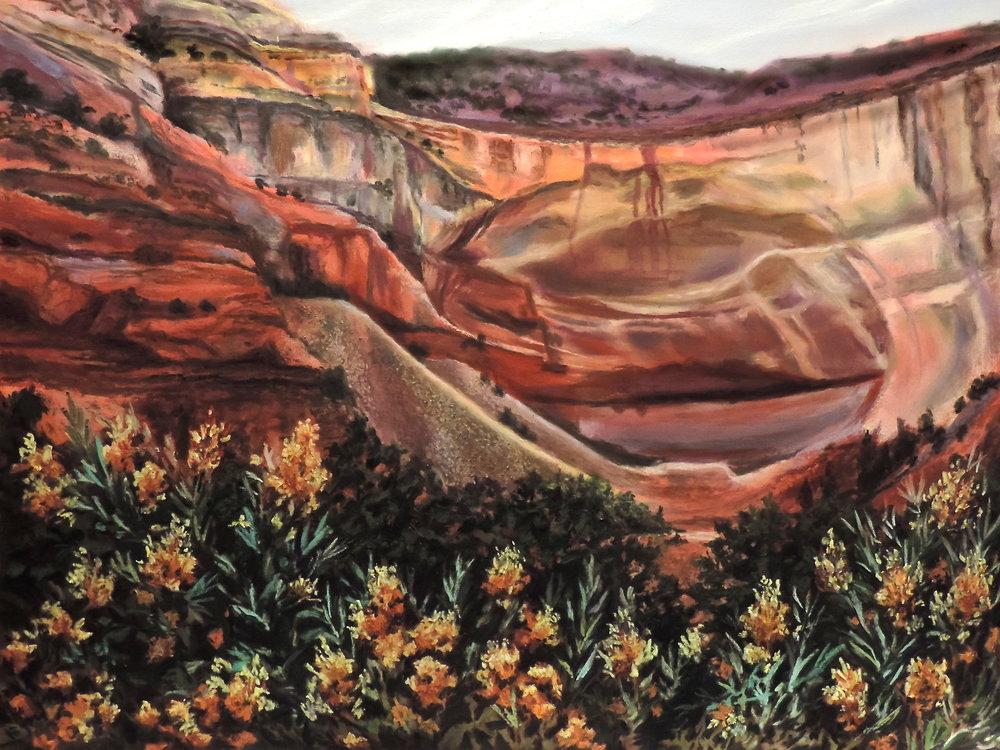 """Echo Amphitheater"" by Cheri Ginsburg©  El Dorado Hotel, Santa Fe, NM"