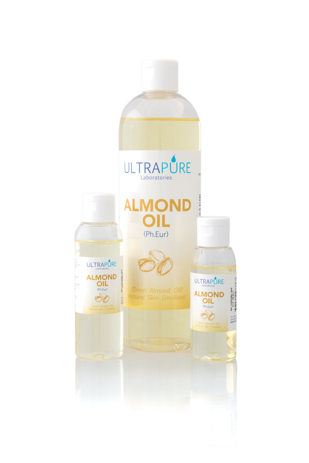 Our pure, natural Sweet Almond Oil is a wonderful massage oil and moisturiser.