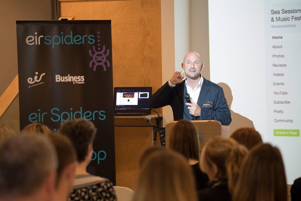 Eir Spiders Digital Workshop