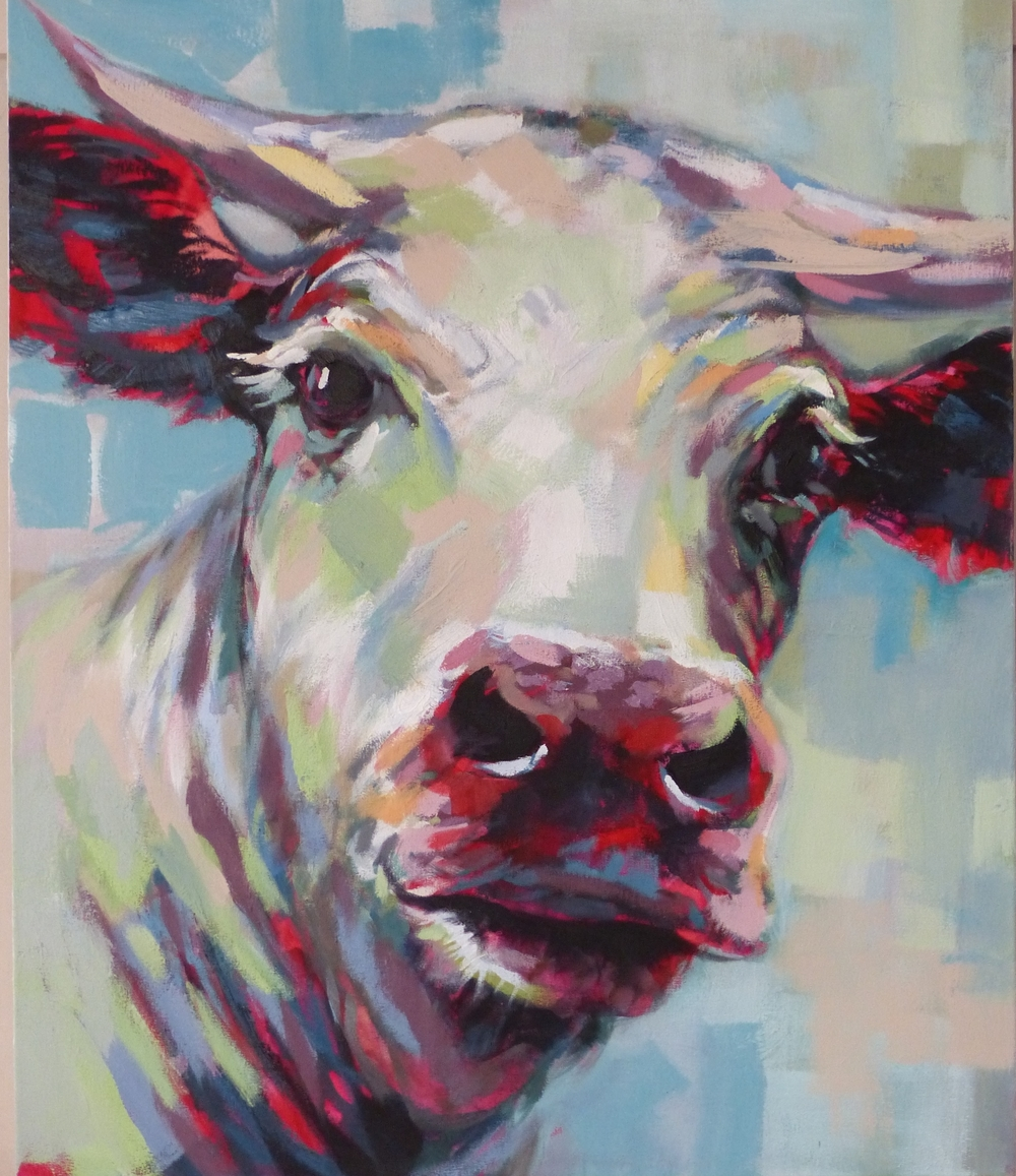 Abstract cow 1