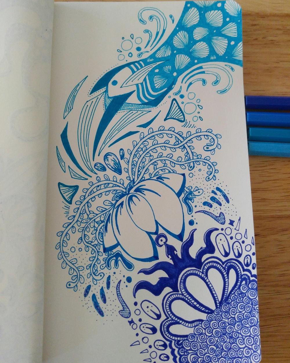 Zentangle: Blues