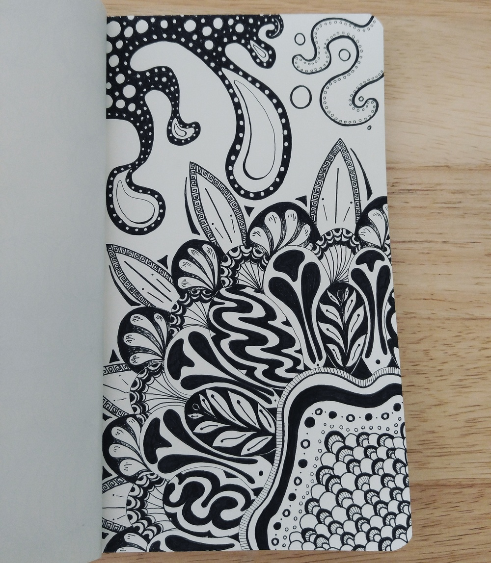 Zentangle: Floral