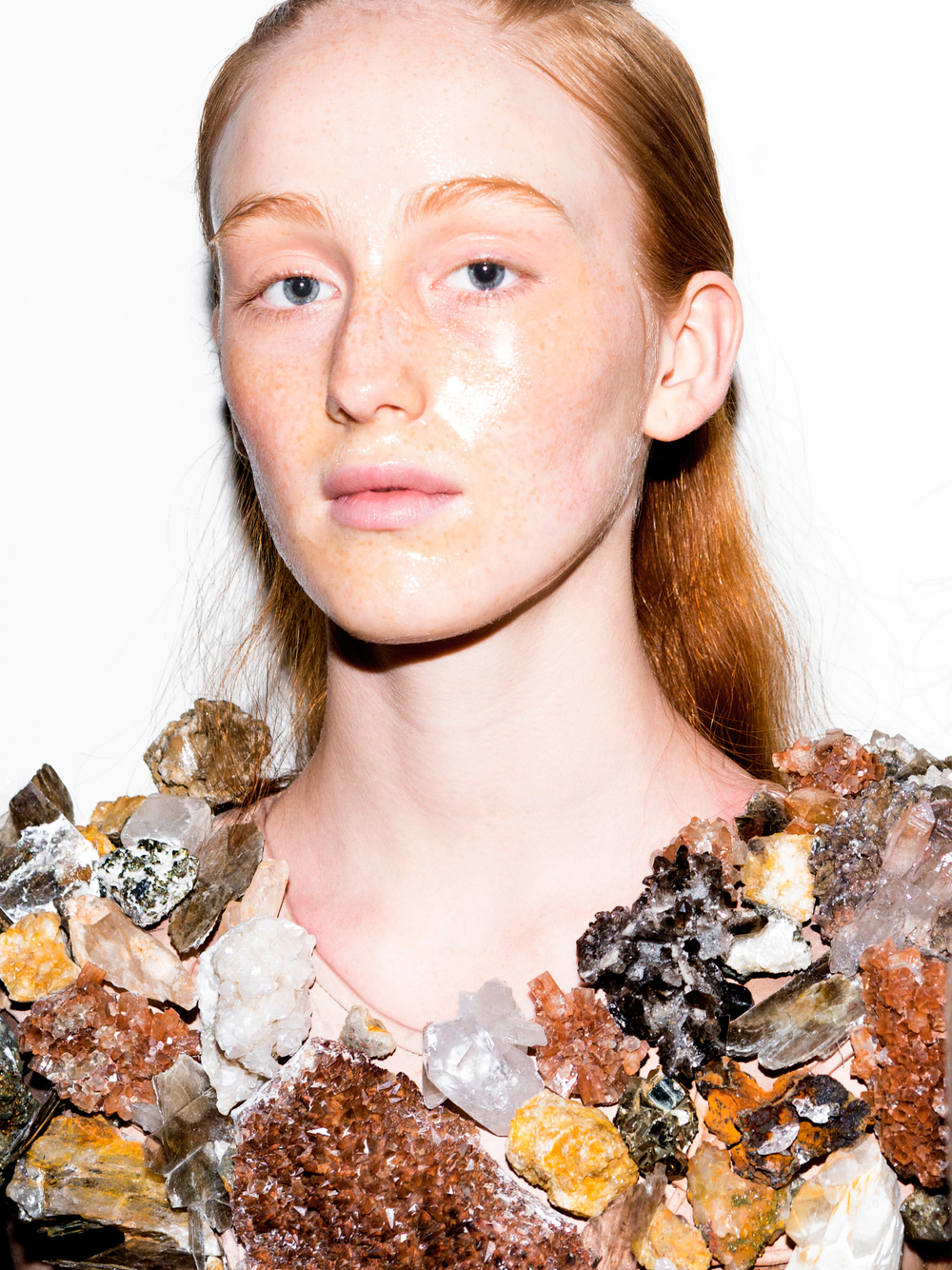 India Salvor Menuez for  threeASFOUR  SS16