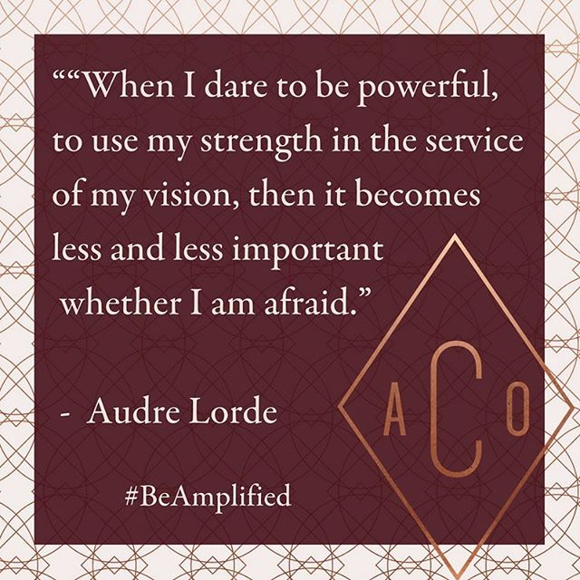 Strength, power, fearlessness... the more you use in line with your true vision and ultimate service, the more you have of it.  #beamplified