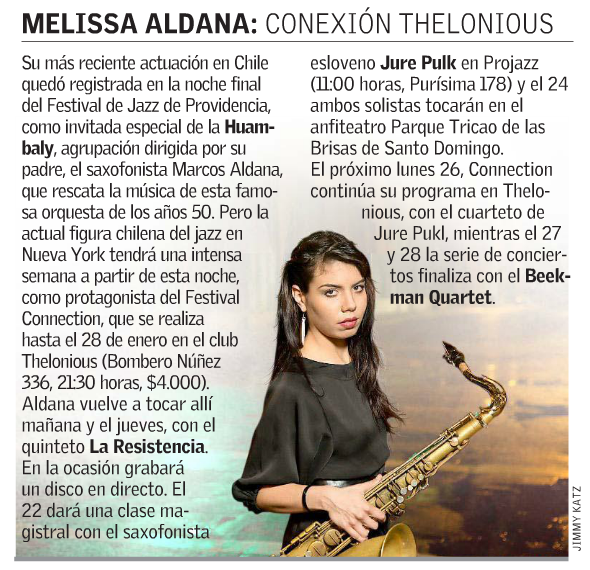Thelonious Connection - El Mercurio.png