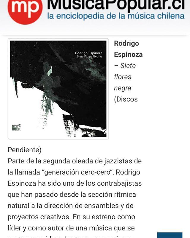 Siete Flores Negras de @rodrigo.espinozae @leogenovesepiano y @gabrielpuentes1 , uno de los discos destacados de la Antología 2018 en el sitio @musicapopular.cl. Link al artículo completo en la biosfera. * * * * * * #antologia #2018 #discodeantologia #perrosdeantologia #sietefloresnegras #jazz #impro #improv #chile #discospendiente #vamoarriba