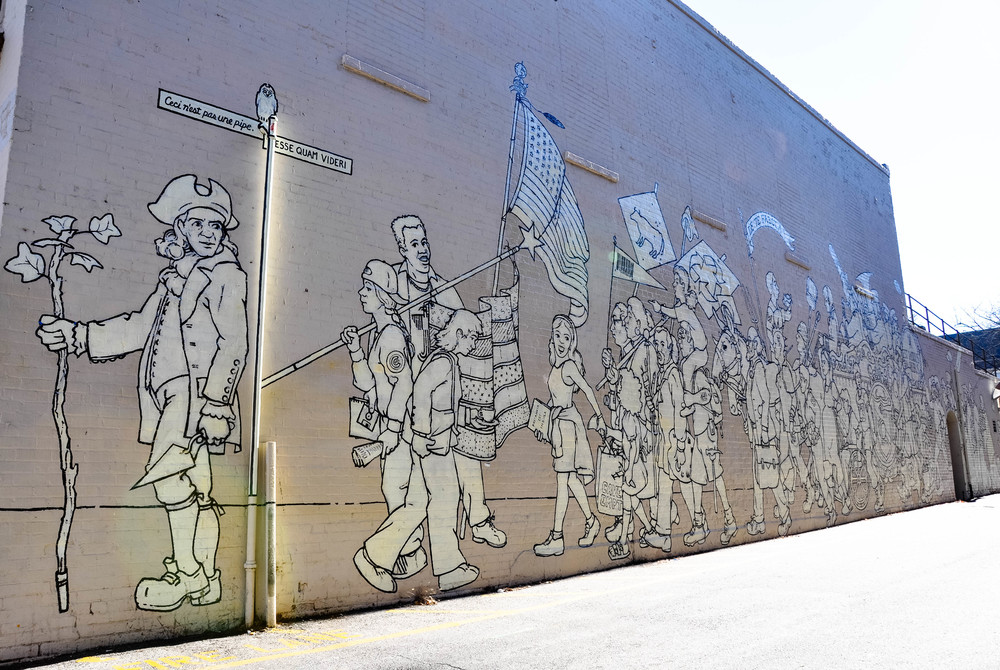 Parade of Humanity Mural