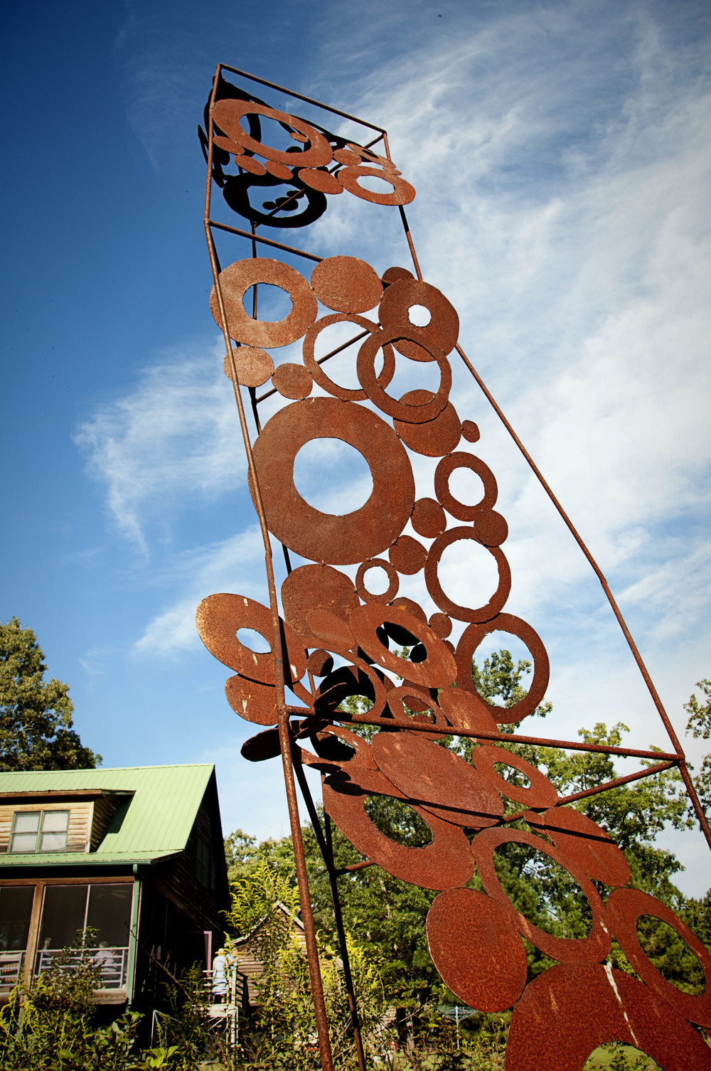 Come out and Play - Chapel Hill - Pittsboro - NC - sculpture show