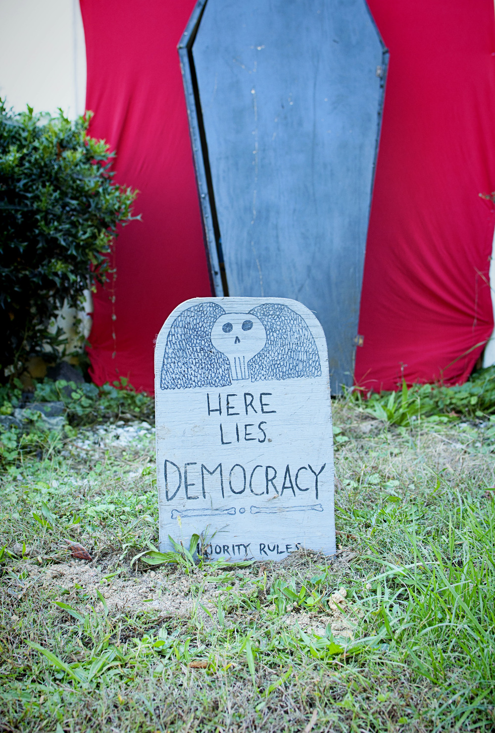 Carrboro - Halloween - Democracy