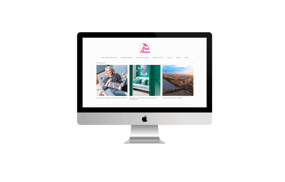 The Pink House Squarespace Training