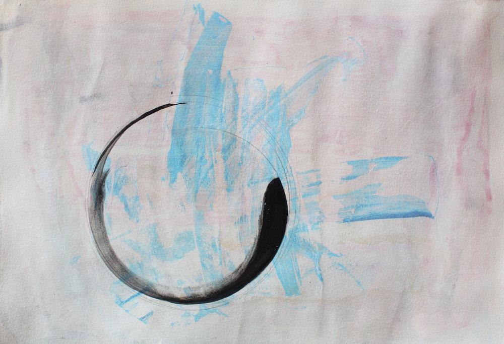 Circle Pink/Blue
