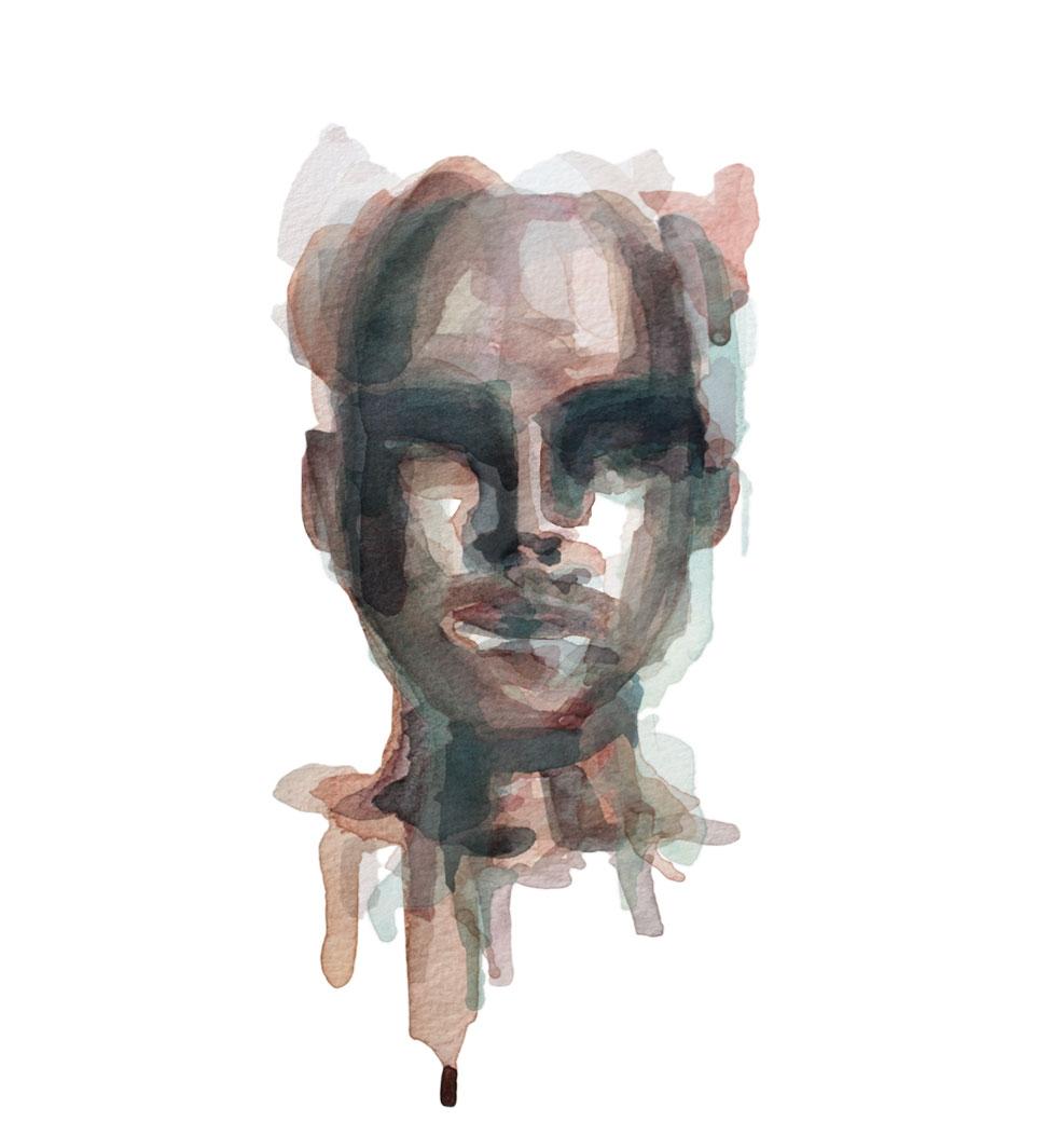 All We've Known / Watercolor Portrait 4/5