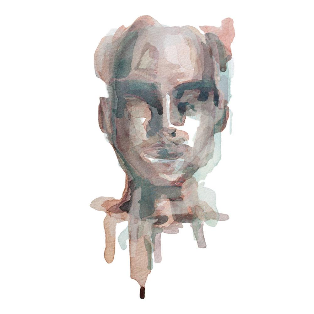 All We've Known / Watercolor Portrait 2/5