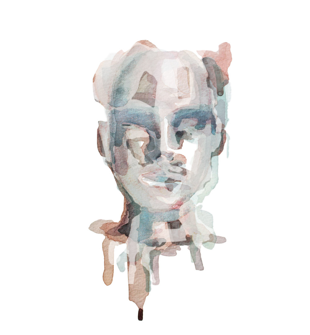All We've Known / Watercolor Portrait 1/5