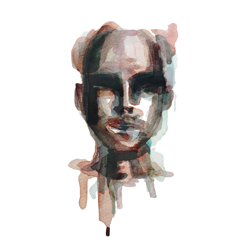 All We've Known / Watercolor Portrait 6/6