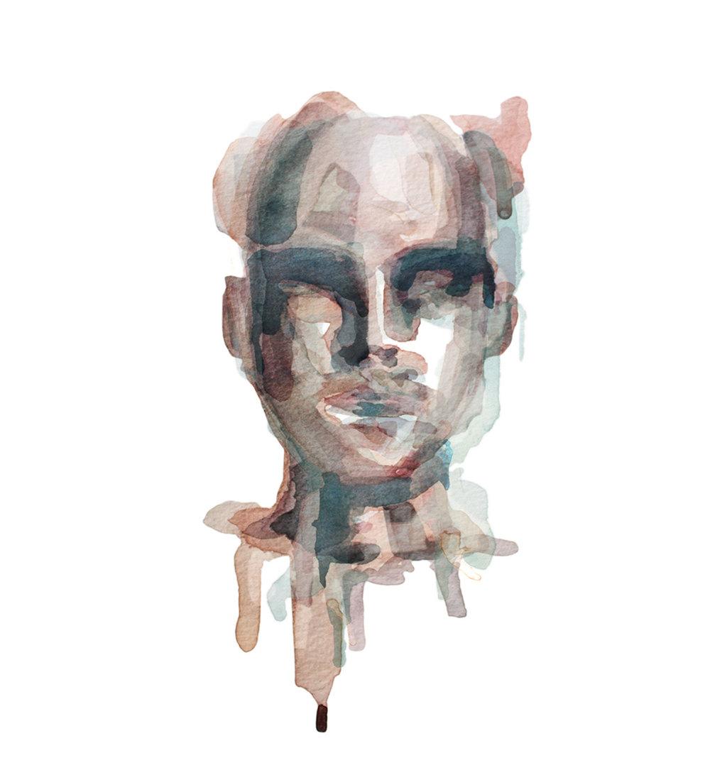 All We've Known / Watercolor Portrait 3/5