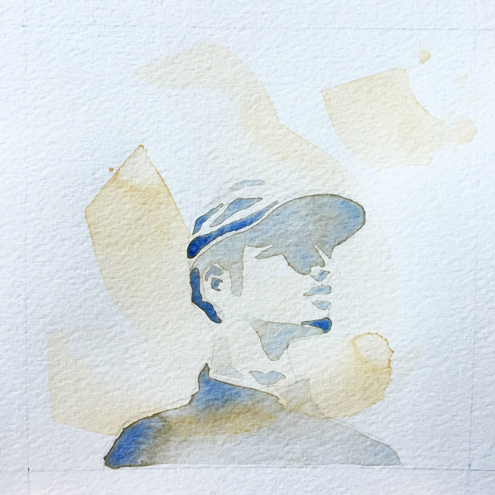 All We've Known / Watercolor Portrait Hat 2/3