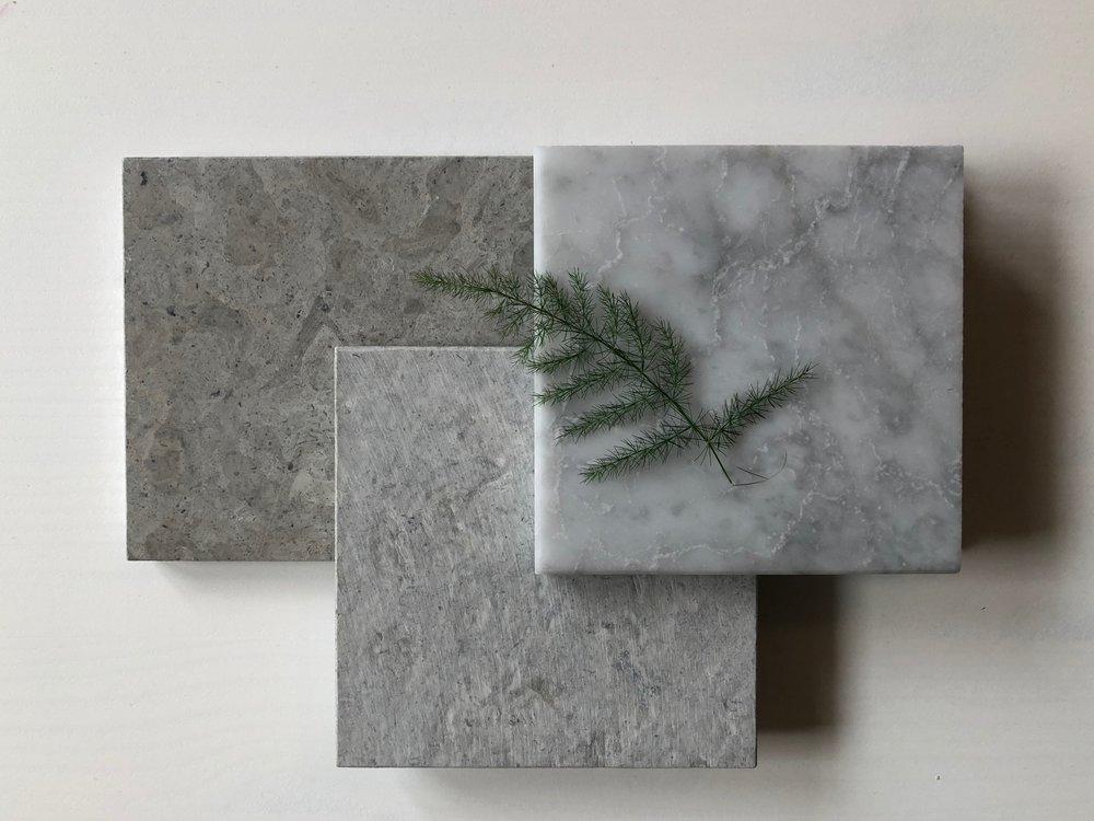 Lindanäs slipad. Lindanäs . Bianco Carrara marmor