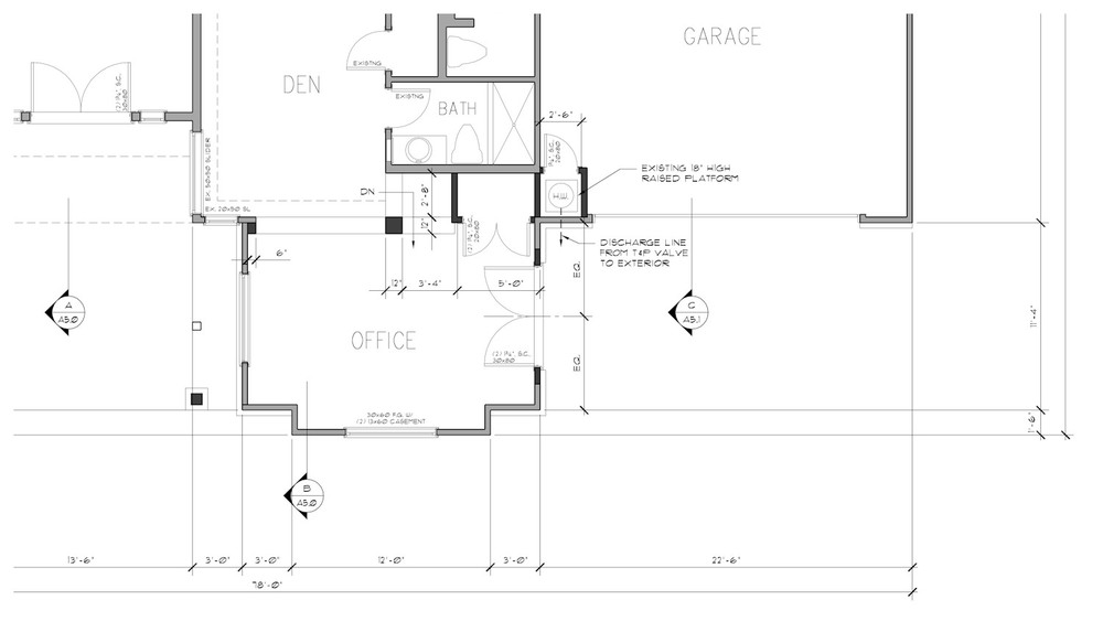 Single-Family Remodel : AutoCAD