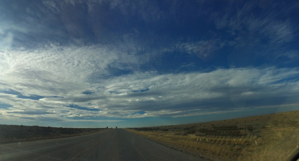 Somewhere in the Texas Panhandle.