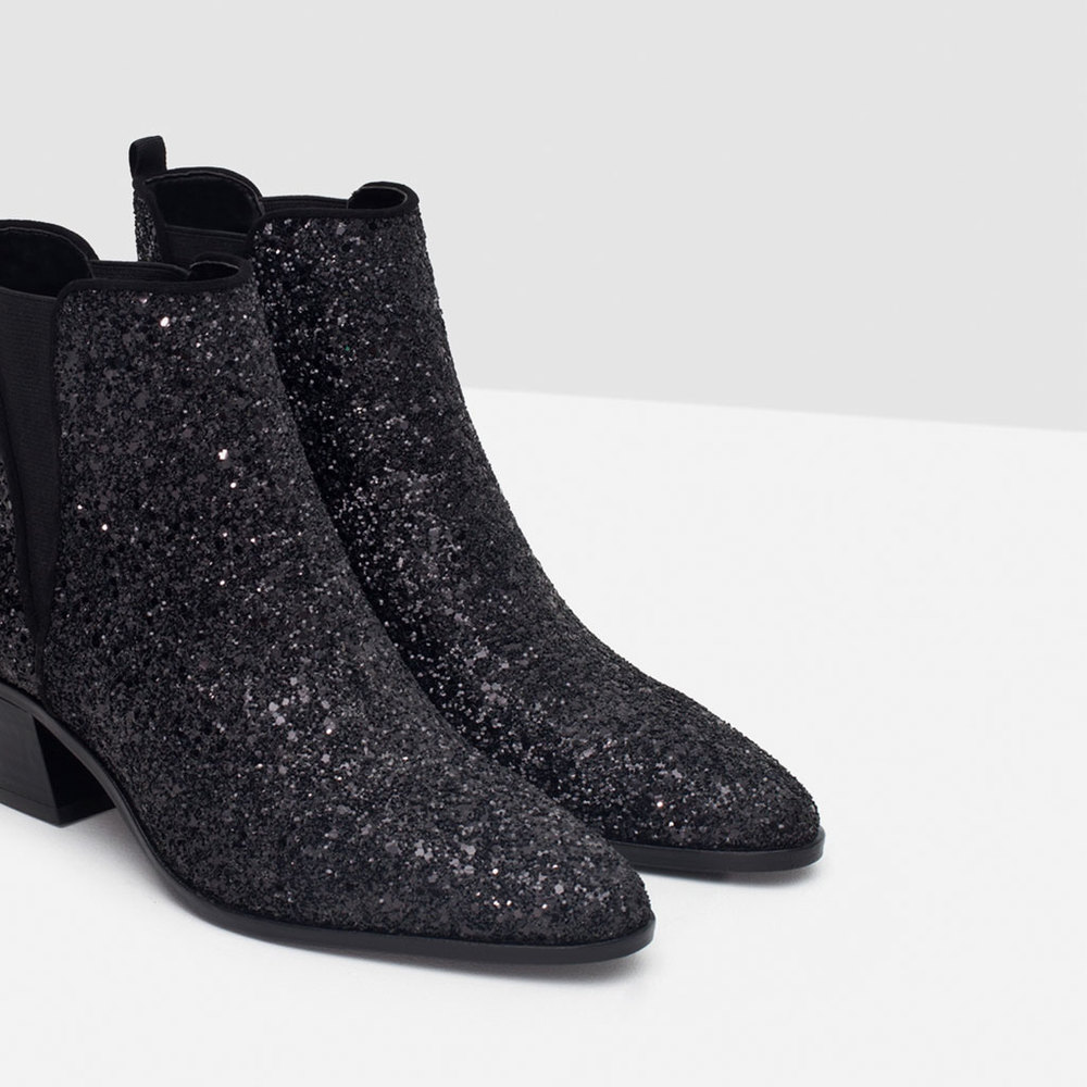 Zara Sparkle Ankle Boot