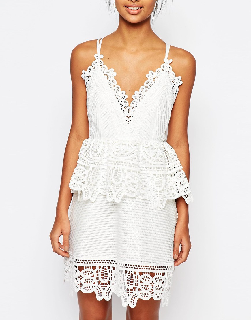 http://us.asos.com/Self-Portrait-Lace-Trimmed-Dress-in-White-with-Strappy-Back/196s3d/?iid=6339326&clr=White&SearchQuery=lace+dress+white&pgesize=36&pge=0&totalstyles=193&gridsize=3&gridrow=8&gridcolumn=1&mporgp=L3NlbGYtcG9ydHJhaXQvc2VsZi1wb3J0cmFpdC1sYWNlLXRyaW1tZWQtZHJlc3MtaW4td2hpdGUtd2l0aC1zdHJhcHB5LWJhY2svcHJvZC8.