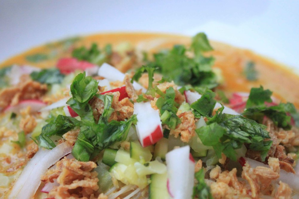 charisma shah khao soi recipe burmese coconut curry