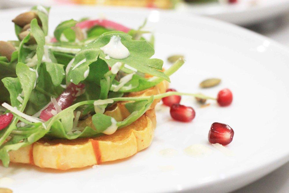 Baked Delicata Squash Salad Recipe Charisma Shah