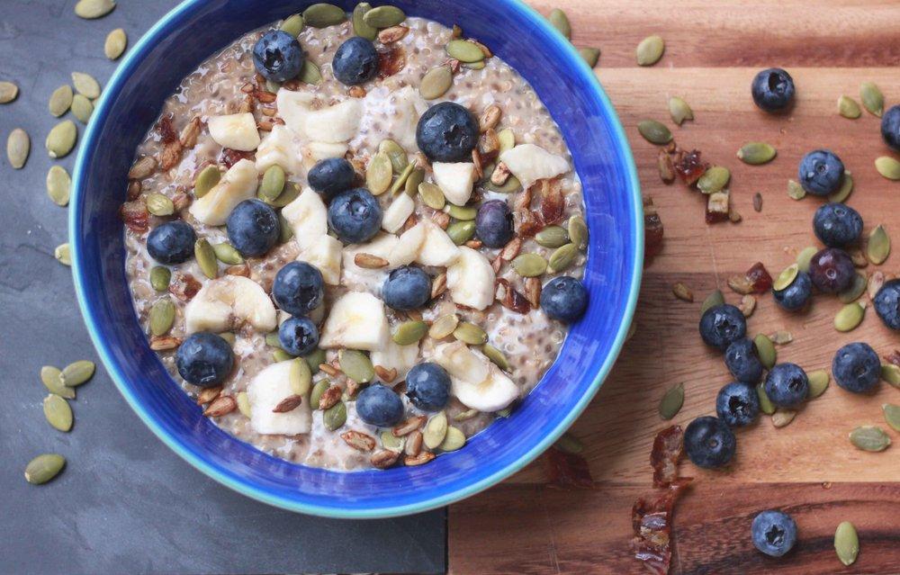 Vegan Vegetarian Gluten-Free Porridge Recipe Charisma Shah