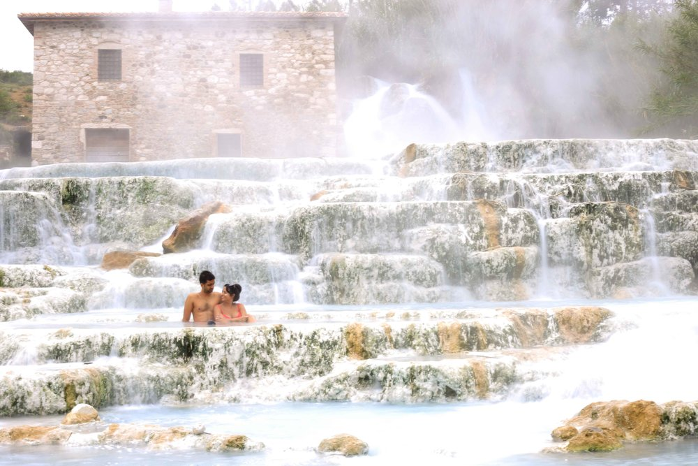 Saturnia Terme Geothermal Spa Tuscany Travel Guide Charisma Shah Italy Roadtrip Itinerary