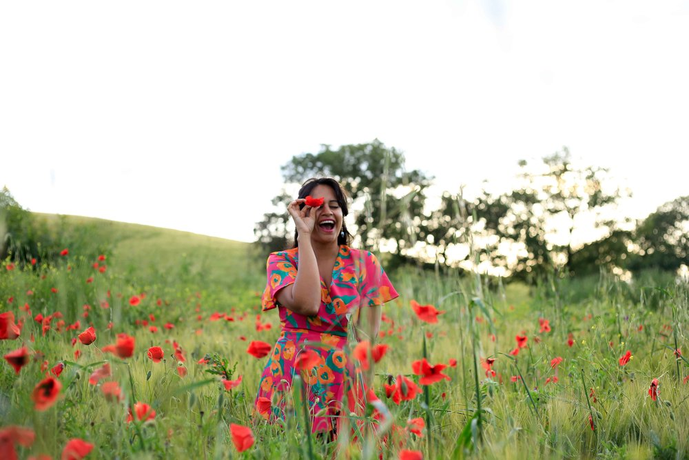 Poppies Tuscany Flower Fields Festival Italy Travel Guide Charisma Shah