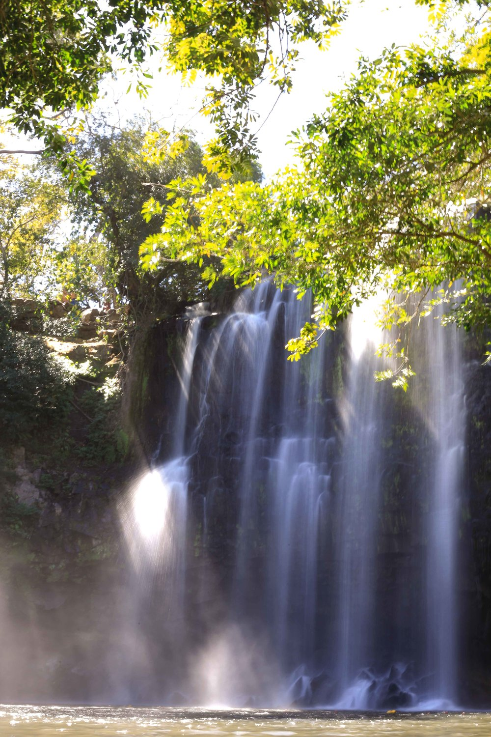 Llano de Cortez Waterfall (outside Liberia)